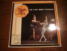 33 tours les grands ballets du bolchoi tchaikovski le lac des cygnes