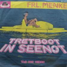 "7"" NDW ! FRL. MENKE : Tretboot in Seenot // MINT- \"