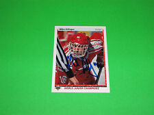 MIKE SILLINGER 100 % AUTHENTIC AUTOGRAPHED ROOKIE UPPER DECK SPORTS CARD # 452
