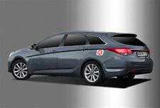 Chrome Fuel Gas Cap Cover For 12 Hyundai i40cw 5d Hatch Back