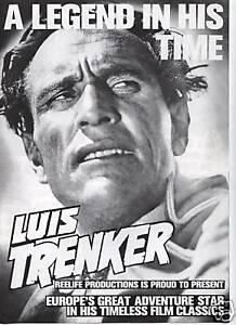 Werberatschlag LUIS TRENKER - A LEGEND IN HIS TIME Ratschlag