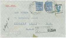 Mythologie: HERMES-histoire postale: Brésil-registered airmail cover 1942