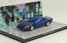 Movie Car Batman #434 Batmobil Detective Magazine Series Comics Model 1:43