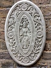 Exclusive Large Beautifully Detailed Buddhas Wall Plaque From The Designer Sius