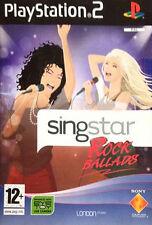 SINGSTAR Rock BALLATE Solus-PS2