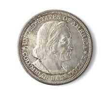 1892 U.S. Columbian Exposition Silver Half Dollar Coin BU ++