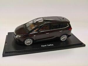 [NEU] Modellauto OPEL Zafira C Tourer 1:43 Mahagoni-Braun metallic OC10130