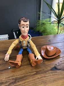 Disney Pixar Toy Story Woody Doll With Hat Not Working