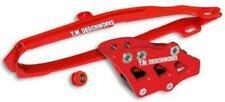 TM Designworks Dirt Cross MultiPurpose Chain SlideNGuide Kit FE1 DCK-OR1-RD Red