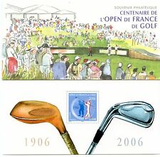 Lot Z330 France bloc souvenir 13 Open golf de France
