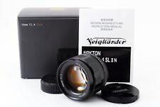 【Exc++++】Voigtlander Nokton 58mm f1.4 SL II N Lens For Nikon Ai-s w/Box 259218