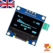 "0.96"" I2C IIC Serial 128X64 128*64 Blue OLED LCD LED Display Module for Arduino"