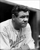 Babe Ruth Photo 8X10 - #48 Brooklyn Dodgers 1938 - Buy Any 2 Get 1 FREE