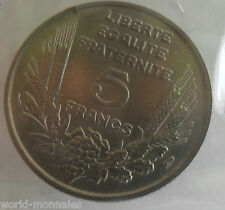5 francs bazor 1933 L espacé : TTB : pièce de monnaie française
