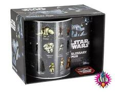 OFFICIAL STAR WARS GLOSSARY RETRO MUG COFFEE CUP NEW