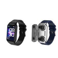 2 in 1 Smart Watch Sports Bracelet with TWS Wireless Earbuds Bluetooth Earphone