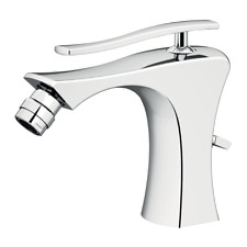 VANITY FAUCET, ICARUS BIDET MIXER WHITHOUT WASTE CHROME MADE IN ITALY !