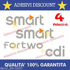 adesivi SMART fortwo forfour cdi sticker prespaziato tuning auto adesivo
