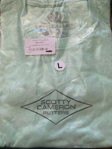 Rare Limited Scotty Cameron NEW Gallery Shaper Circle-T T-Shirt *Sea Mint Green