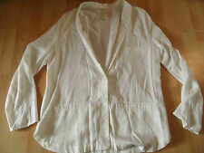 H&M conscious collection chicer Tencel Blazer creme Gr. 44 TOP 516