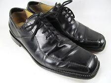 Mezlan Parana Black Leather  Oxford Dress Shoes Sz 9.5 M