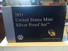 One (1) 2011 Silver Proof Set