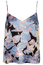 Topshop Blue Floral Top - Size 6 Brand New with Tags!