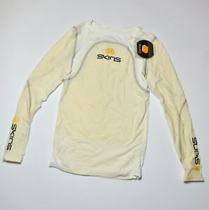 SKINS Thermal Compression Long Sleeve Cycling Top Jersey S