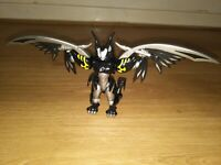 Power Ranger Jungle Fury Deluxe Animorphin Bat Ranger Rare Vgc O1