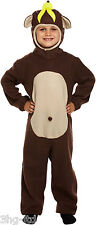 Child Monkey Costume Animal Jungle Book Week Day Fancy Dress Outfit 7-9 Years