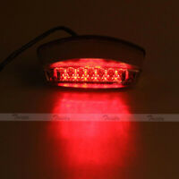 Smoke 21 LED Motorcycle Bike Rear Brake Stop License Plate Integrated Tail Light