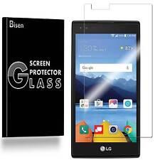 LG K8V / K8 V [BISEN] Tempered Glass Screen Protector Guard Shield Saver Cover