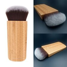 New Bamboo Handle Kabuki Contour Sculpting Highlight Blending Blush Makeup Brush