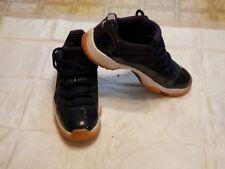 Nike Air Jordan XI Retro 11 Low Midnight Navy Blue Gum Brown Size 10