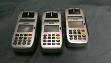 Lot of 3 First Data Fd100 Credit Card Terminal Powers On