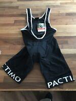 Pactimo Apex Bib Short Liner Size Large Black