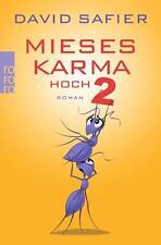 Pésima Karma alta 2 David Safier Taschenbuch + + no leído + +