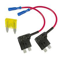 2 x Add A Circuit Piggy Back Fuse Tap Standard Blade Fuse Holder ATO 12V