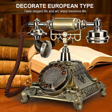 Retro Corded Telephones Landline Classical Vintage Home Desktop Phone Calling