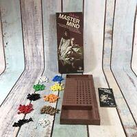 Collectable Original Deluxe Master Mind Vintage Board Game Invicta 1975 Complete