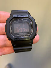 Casio G-Shock Military DW-5600MS-1 used Watch