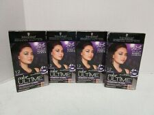 4 SCHWARZKOPF COLOR ULTIME MAGNIFICENT BLACKS - SCARLET BLACK 1.2 MM 13964