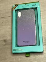 Kate Spade New York GLITTER OMBRE iPhone XS MAX Case - FROZEN LILAC