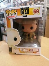The Walking Dead Merle Dixon #69 Funko Pop! Vaulted. Sun Faded.
