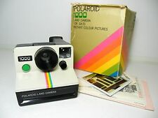 Vintage Polaroid 1000 Land camera for SX-70 film cassettes SX70 old retro 70s