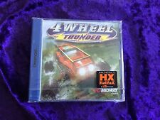 4 Wheel THUNDER - for Sega Dreamcast Factory Sealed Midway Arcade Racer