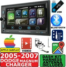 05-07 DODGE MAGNUM CHARGER GPS NAVIGATION SYSTEM APPLE CARPLAY BLUETOOTH PACKAGE