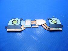 """Dell Alienware 13 R2 13.3"""" OEM Dual Cooling Heatsink & Fan Assembly D2W2T ER*"""