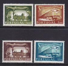 1956 Portugal - Yvert 831/834 - MNH - Ferrocarril - Valor 115 €