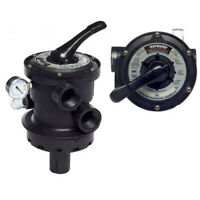 "Hayward SP0714T Vari-Flo XL 1.5"" Multiport Valve for Pro-Series Sand Filters"
